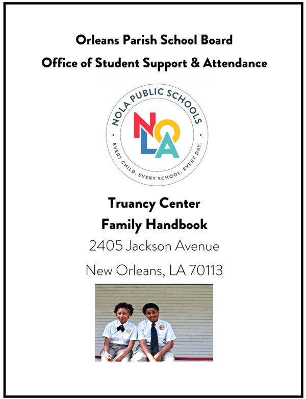 Front page of Student Support and Attendance Handbook